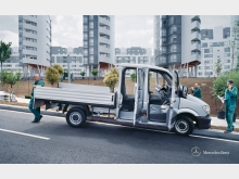 Фотография Mercedes-Benz Sprinter бортовой 4-дв. 2.1 CDI AT L1