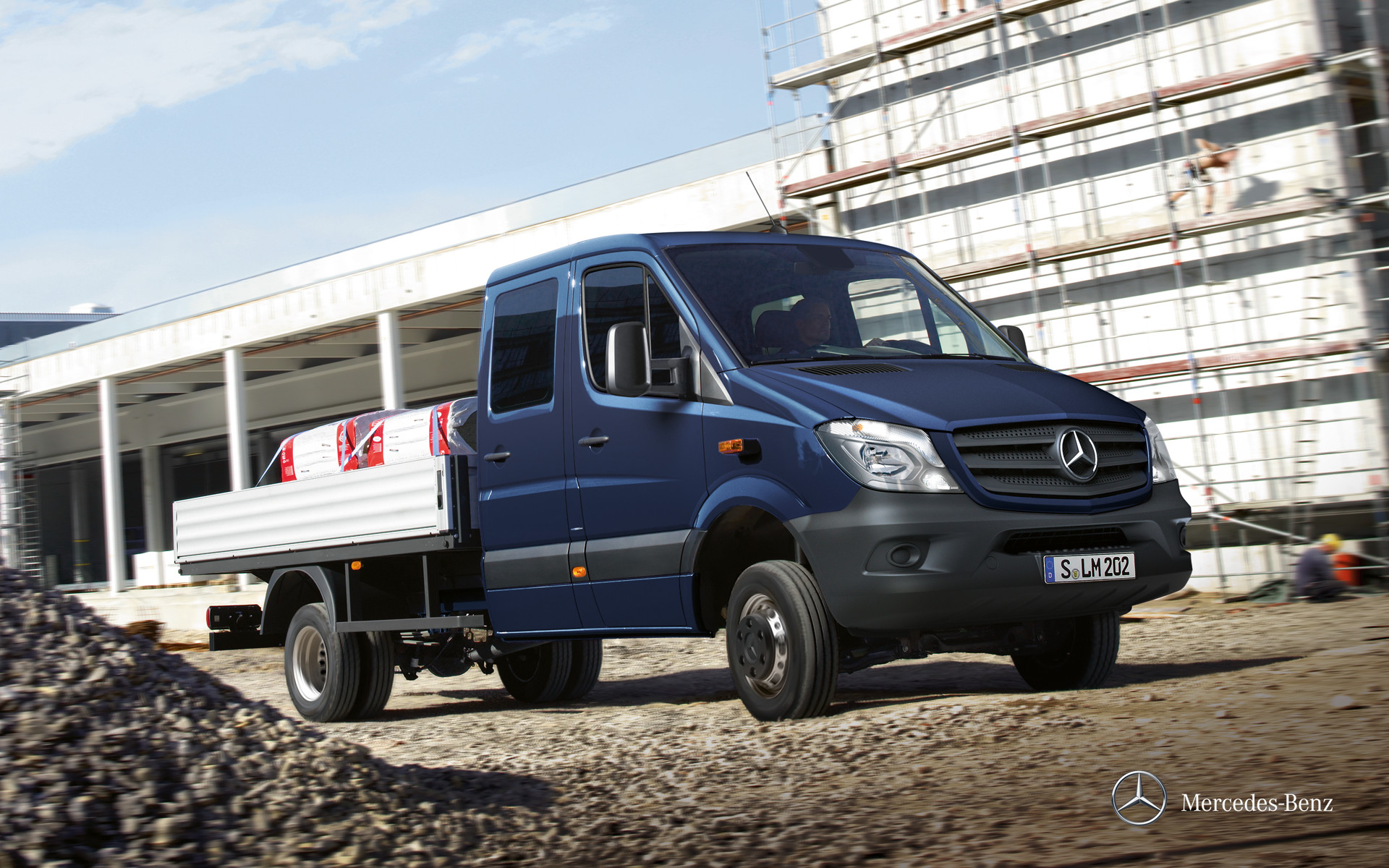 Фото автомобиля Mercedes-Benz Sprinter бортовой 4-дв.