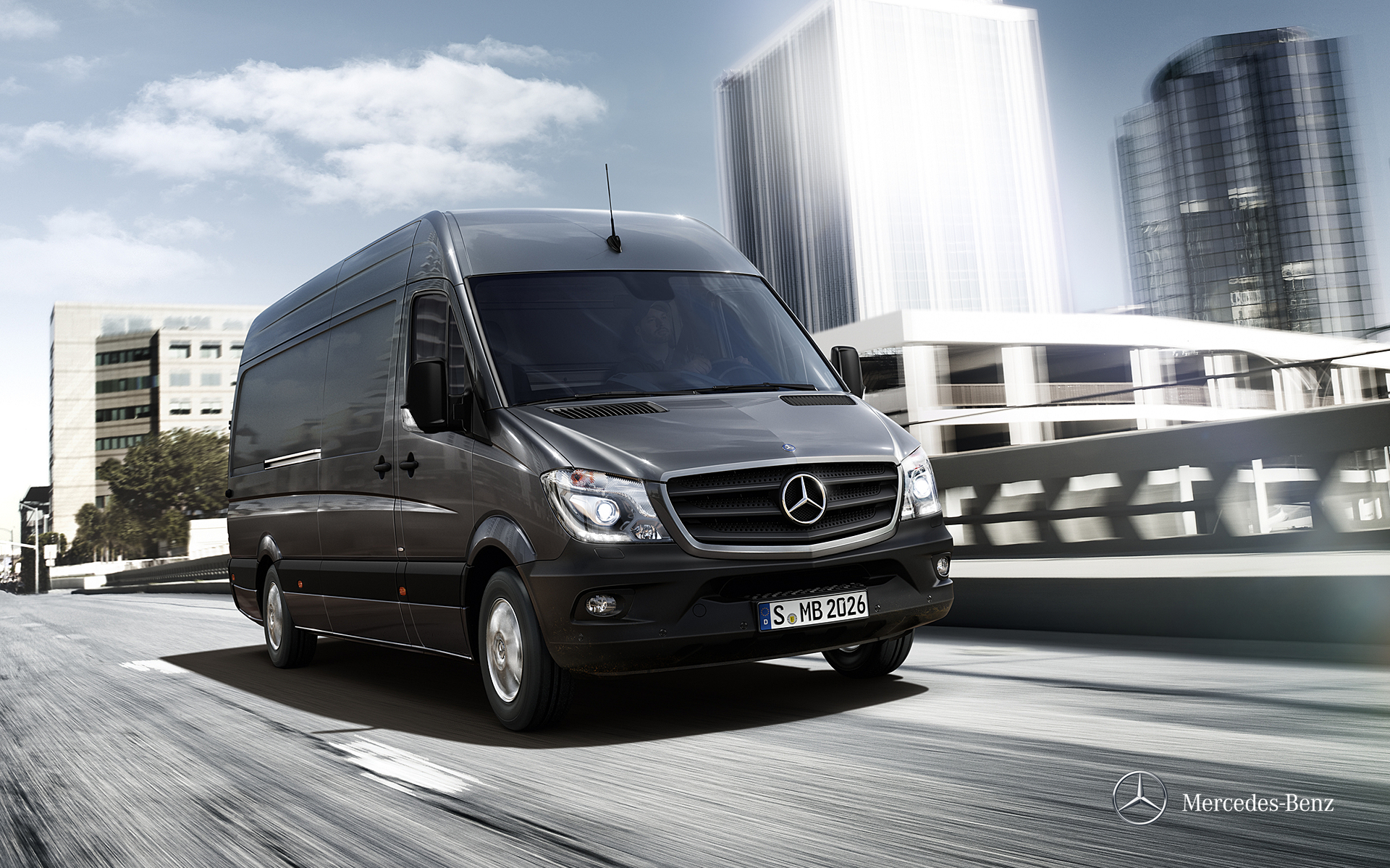 Фото автомобиля Mercedes-Benz Sprinter Fourgon (2014)